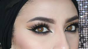 arabic eye makeup tutorial zezah baragbah 2016 08 21
