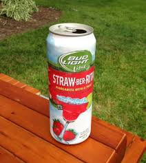 Is There Tequila In Bud Light Strawberita Yes We Did Bud Light Straw Ber Rita Investigated Guys
