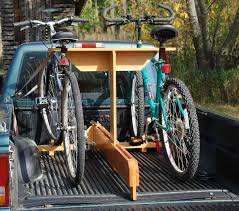 The MacGyver Files: Bike Carrier for Pickup Truck
