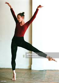Buffy Miller rehearses one of her dances.She incorporates her ...