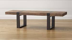 Seguro Rectangular Coffee Table Crate And Barrel Intended For Brilliant And  Interesting Rectangle Wood Coffee Table