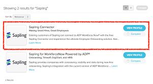 Sapling Knowledge Base Adp Integration Guide