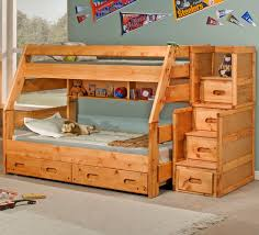bunk bed with trundle and stairs. Beautiful Bunk Full Over Bunk Beds With Stairs Trundle In Bed And T