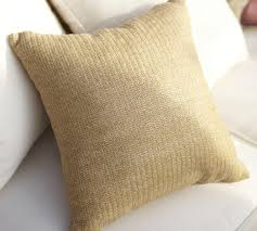 Faux Natural Fibre Indoor Outdoor Cushion