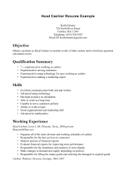 Cashier On Resume Duties Outstanding Cashier Jobcription For Resume Template Responsibilities 16
