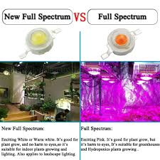 White Led Grow Light Warm White Full Spectrum Leds Details Hackaday Io