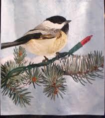 international festival quilts   Karen Combs Studio Blog & Christmas Chickadee by David Taylor Adamdwight.com
