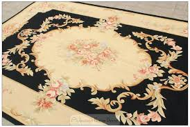 wool area rugs 5x8 black ivory area rug antique french decor cream pink wool carpet shabby