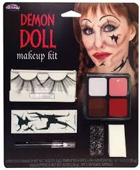 details about new demon doll makeup kit horror female