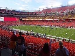 Fedexfield View From Section 238 Vivid Seats