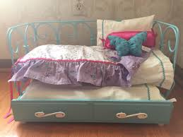 american girl doll curlicue day bed trundle erfly retired 1 of 10 see more