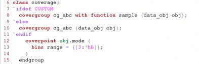 Using A Custom Sample Function For Functional Coverage Blog