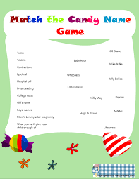Download And Print Simple Baby Shower Games And ActivitiesBaby Name Games For Baby Shower