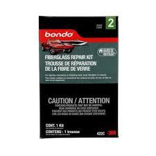 422c Pt Chart Bondo Fibreglass Resin Repair Kit 422c