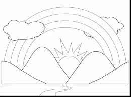 Small Picture Impressive rainbow cloud coloring page with rainbow coloring pages