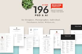 Resume Template With Photo The Best CV Resume Templates 100 Examples Design Shack 50