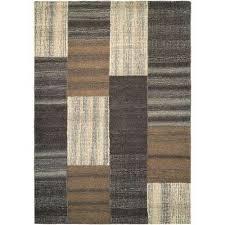 super indo natural er brown 6 ft x 8 ft area rug
