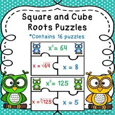 Perfect Square Roots And Cube Root Activity With Perfects Cubes 8 Ee 2