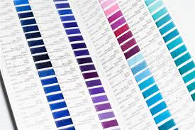 Robison Anton Color Chart Robison Anton Real Thread Polyester Color Chart