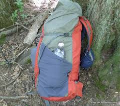granite gear packs have a unique side compression system where the lower side strap can run