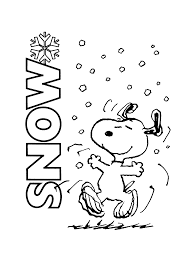 Free Printable Charlie Brown Christmas Coloring