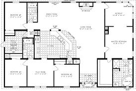 4 bedroom floor plans. 4 Bedroom Mobile Homes (photos And Video) | WylielauderHouse.com Floor Plans