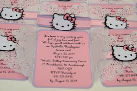 hello kitty jingvitations doily invitations hello kitty 7
