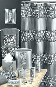shower curtains with matching towels shower curtains and rugs silver bling shower curtain sequins silver fabulous
