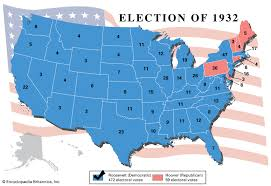 Us Presidential Election Chart United States Presidential Election Of 1932 United States