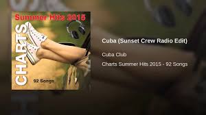 Cuba Sunset Crew Radio Edit
