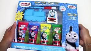 the tank engine bath paint learn colors with friends plus minions time set marvel bathtub set 4 paint colors