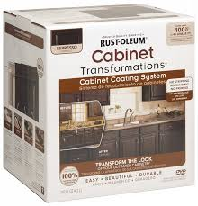 Espresso Painted Cabinets Rust Oleum 263231 Cabinet Transformations Small Kit Espresso