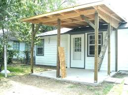 back porch cover medium size of to build a freestanding patio ideas