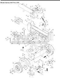 Mtd 24bf550c729 logsplitter 25 ton log splitter model series 550 yard man string trimmer parts yard machine steering diagram pioneer parts diagram on yard