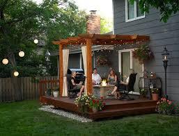 Small Picture Attractive Small Patio Deck Ideas 17 Charming Rustic Deck Design