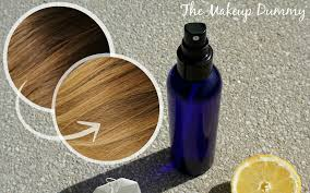 how to make your own john frieda hair lightening spray with simple ings a diy