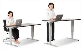 office desk standing. Unique Standing Ergonomic Standing Desk With Office Desk Standing
