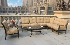 l shaped patio furniture inspirational furniture l shaped patio furniture with cream cushion patio