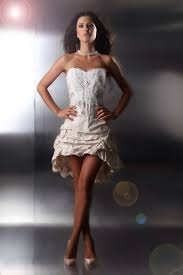 Die schönsten Brautkleider vorne kurz hinten lang online bestellen ...
