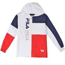 fila zip hoodie. fila biella half zip jacket hoodie