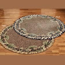 ds jungle safari round rug