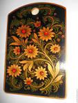 Разделочные доски хохлома роспись