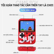 MÁY CHƠI GAME 4 NÚT CẦM TAY SUP GAME BOX 400 IN 1 PLUS, Giá tháng 11/2020