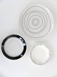 Decorative Kitchen Wall Plates Kitchen Wall Decor Decorative Plates Modern Abstract Decor Dining