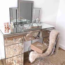 Lighted Makeup Vanity Sets Bedroom Set With Mirror Lights ...
