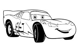 Cars Auto Kleurplaat