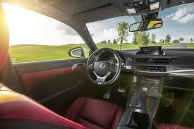 Lexus F Sport Interior With Red Leather Lexus