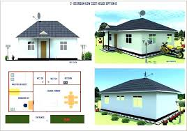 what is the average cost of building a 2 bedroom house