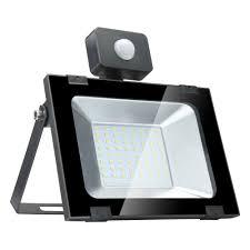 Ideaworks Motion Activated Cordless Light 2x 50w Led Pir Motion Sensor Flood Light Outdoor Garden Spot Lamp Warm White