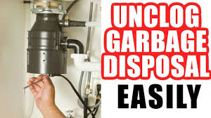 How To Unclog A Garbage Disposal Easy Step By Step Youtube